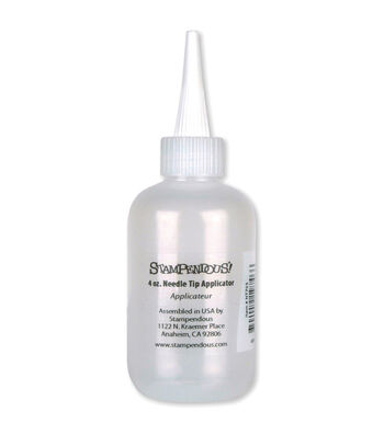 Stampendous Needle Tip Bottle - Empty-Holds 4oz