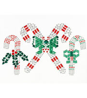 Jolee's Boutique® Holiday Bling Stickers 3pk-Candy Canes, , hi-res