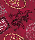 Game Of Thrones Fleece Fabric 59\u0027\u0027-House Mottos