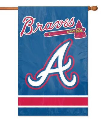 Atlanta Braves Applique Banner Flag