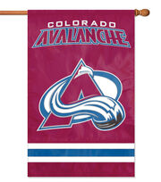 Colorado Avalanche Applique Banner Flag, , hi-res