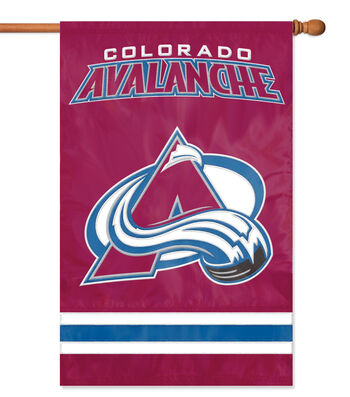 Colorado Avalanche Applique Banner Flag