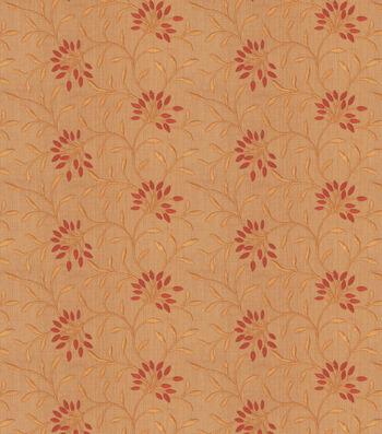 "Eaton Square Print Fabric 52""-Greenville/Sienna"