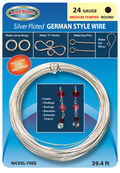24 Gauge Silver German Wire