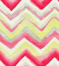HGTV Home Lightweight Decor Fabric-Blurred Lines/Blushing