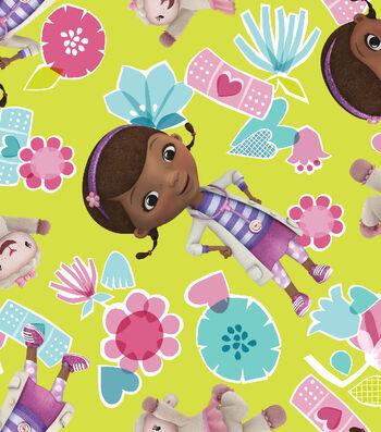Disney® Doc Mcstuffins Cotton Fabric 43''-Toss