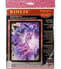 RIOLIS Stamped Cross Stitch Kit 11.75\u0022X15.75\u0022-Fairy
