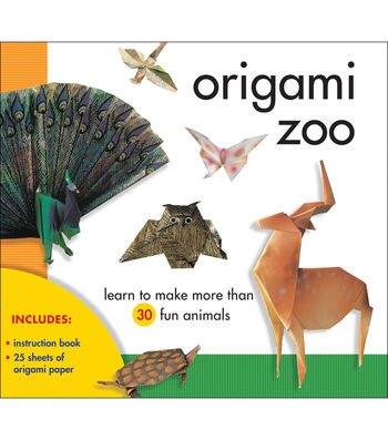 Sterling Publishing-Origami Zoo Kit