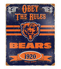 Chicago Bears Vintage Sign