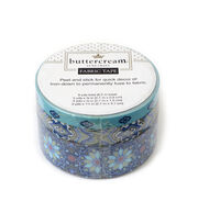 Buttercream™ Stella Collection Fabric Tape-Moroccan Blue, , hi-res