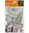 Cricut Cuttlebug Lost and Found Cut & Emboss Die Set