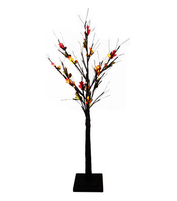Fall Into Color 4' Maple LED Tree
