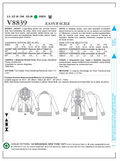 Mccall Pattern V8839 Lrg (16-18-Vogue Pattern