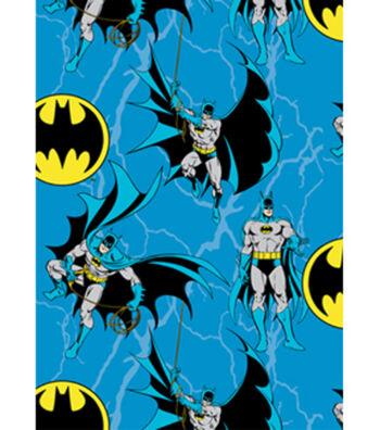 """DC Comics Batman Fleece Fabric 58""""-Batman Rope"""