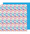 American Crafts Sunshine & Good Times 12\u0027\u0027x12\u0027\u0027 Cardstock-Shoe in