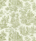 Waverly Multi-Purpose Decor Fabric 54\u0022-Charmed Life/Tarragon