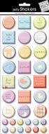 Baby Epoxy Sticker