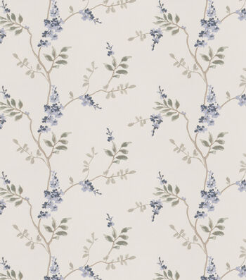 """Eaton Square Print Fabric 51""""-Rosehips/Chambray"""