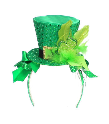 St. Patrick's Day Fascinator Headband