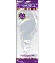 "12"" Cone Treat Bags-20PK/Clear, , hi-res"