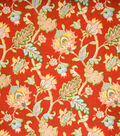Home Decor 8\u0022x8\u0022 Fabric Swatch-Upholstery Fabric Eaton Square Bull Run Poppy