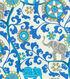 P/K Lifestyles Outdoor Fabric 54\u0022-Menagerie/Sapphire