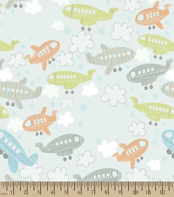 Up Up and Away Print Fabric