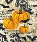 Halloween Cotton Fabric 43\u0022-Pumpkin Vines
