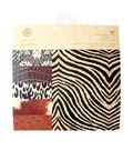 Anna Griffin 6\u0027\u0027x6\u0027\u0027 Animal Print Paper Pad