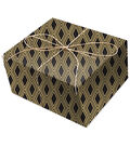K&Company Black And Gold Diamond Paper Roll
