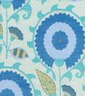 Home Decor 8\u0022x8\u0022 Fabric Swatch-Waverly Flor Feliz Azure