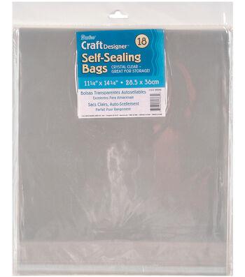"""Darice Self Sealing Bags 11.25""""x14.25"""""""
