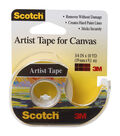 Scotch Artist Tape For Canvas .75\u0022X10yd-