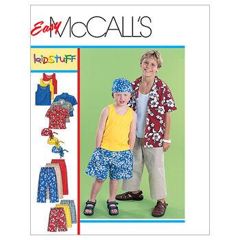 McCall's Boys Activewear-M6099