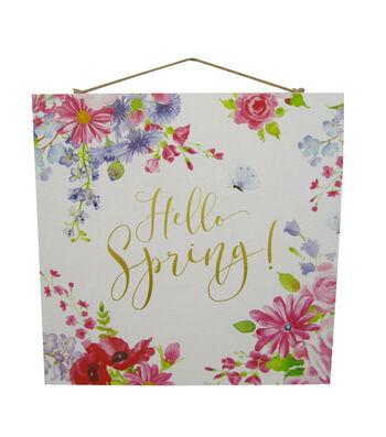 Wild Blooms Wall Decor-Hello Spring