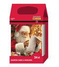 Holiday Cheer $12.99 Hi Count Santa Cards
