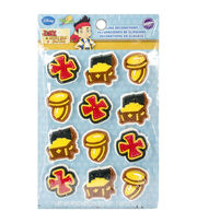 Royal Icing Decorations 12/Pkg-Jake and the Never Land Pirates, , hi-res
