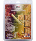 Tandy Leather Factory 1\u0022 Alphabet Stamp Set-Standard