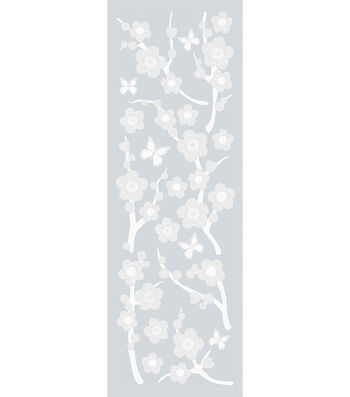 Etched Glass Appliques-Blossom