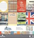Paper House Paper Crafting Kit 12\u0022X12\u0022-England