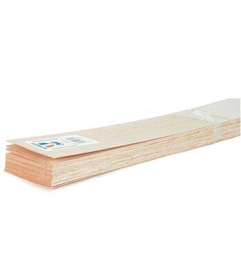 """Balsa Wood 36"""" Sheet-20PK/1/8""""x3"""""""