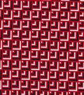 Quilter\u0027s Showcase™ Cotton Fabric 44\u0022-Red Navy Geometrics Blender