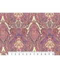 Two Daughters™ Cotton Fabric 43\u0022-Bright Damask