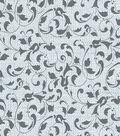 Keepsake Calico™ Cotton Fabric-Scrapbook Scroll Barouche On Texture