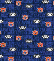 "Auburn University Tigers Cotton Fabric 43""-Distressed, , hi-res"