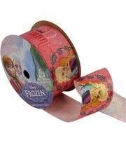 "Frozen Ribbon 1-1/2""x9'-Anna&Elsa, , hi-res"