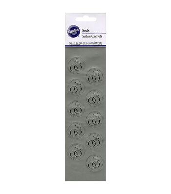 Wilton® 50pk Ring Envelope Seals