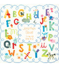 Baby Hugs Alphabet Birth Record Counted Cross Stitch Kit-12\u0022X12\u0022 14 Count