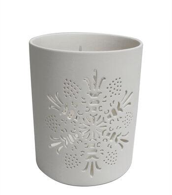 Maker's Holiday Christmas Large Porcelain Canister