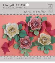 Lia Griffith Paper Flower Garden-Ranunculus, , hi-res